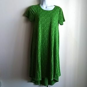 LuLaRoe NWT Green Dress XXS